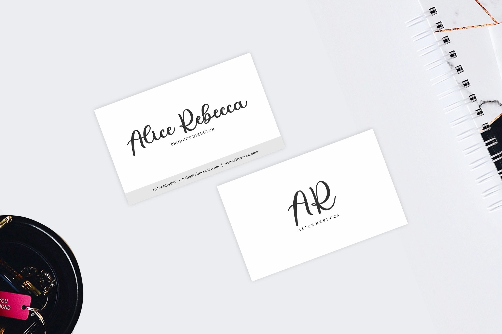 Beauty Alesha Font Duo example image 9