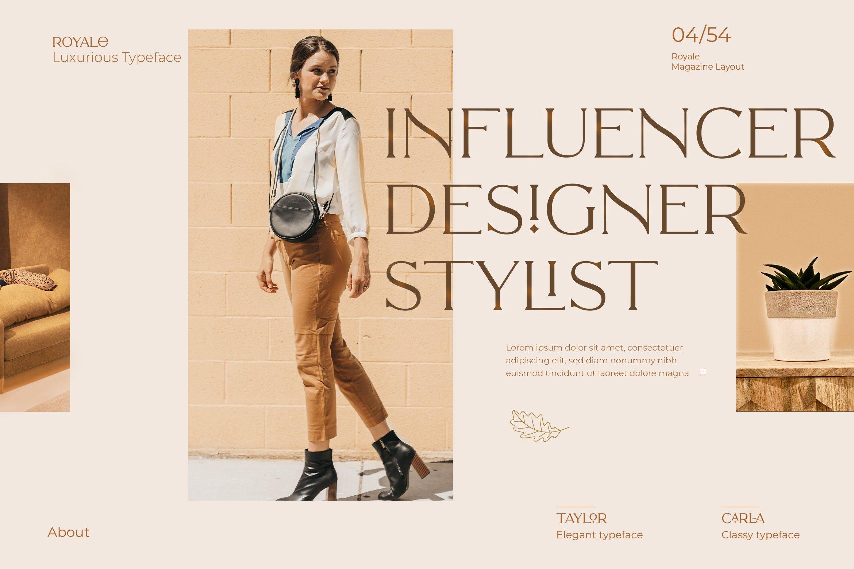 Royale Luxurious Typeface example image 24