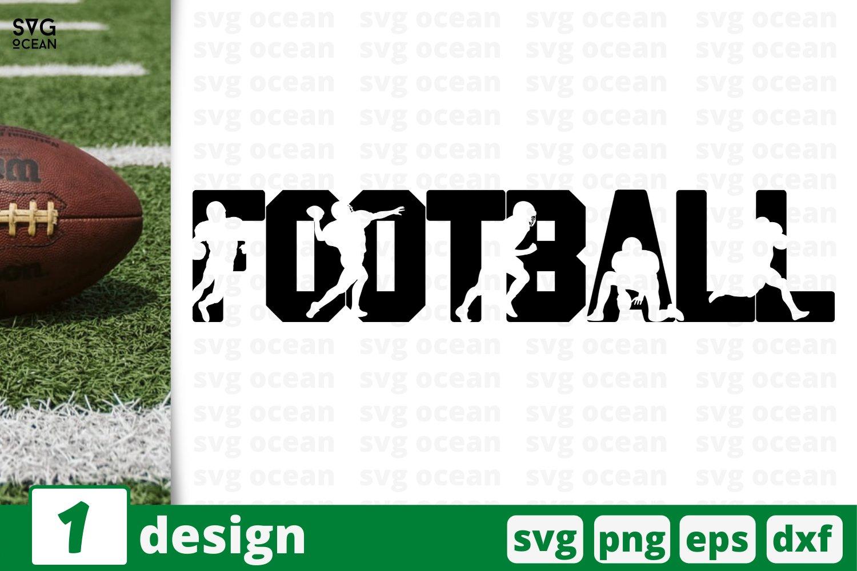 American Football Svg Cut File Football Player Silhouette 722527 Cut Files Design Bundles