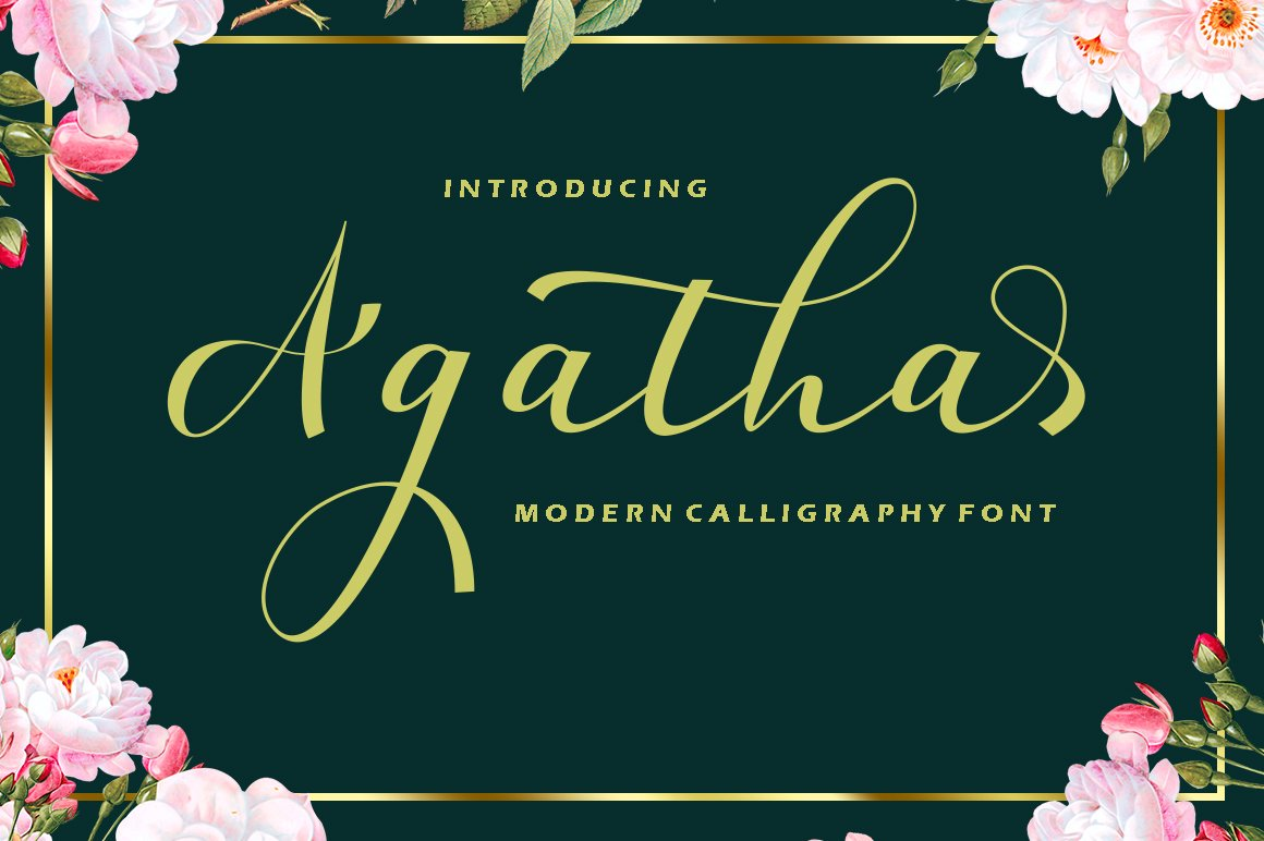 Beauty Font Bundles example image 19