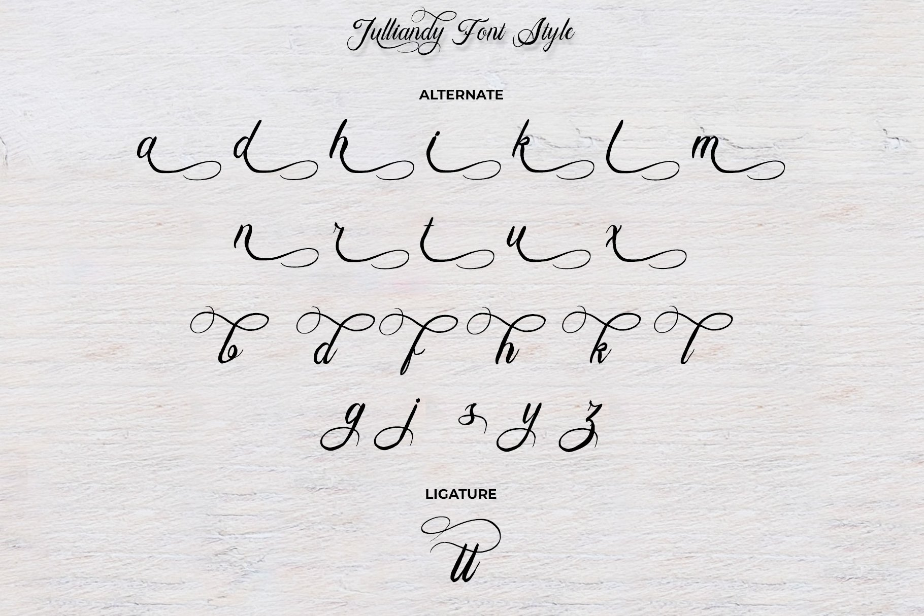 Bulliandry | Modern Calligraphy example image 13