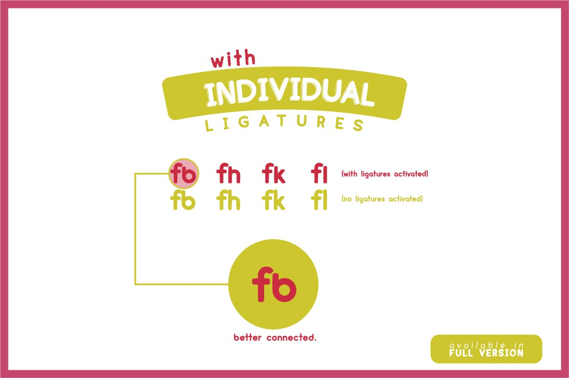 cream - complete font family example image 4