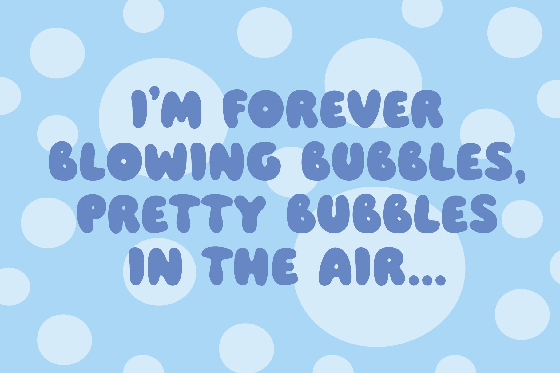 Pobble - cartoon comic style font example image 6