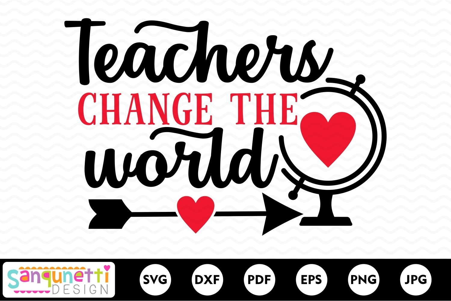Teachers change the world SVG, teacher appreciation example image 2