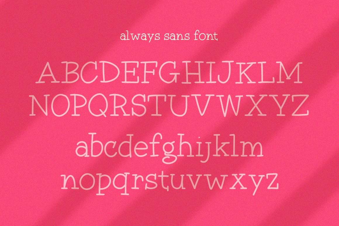 Always Font Duo example image 5