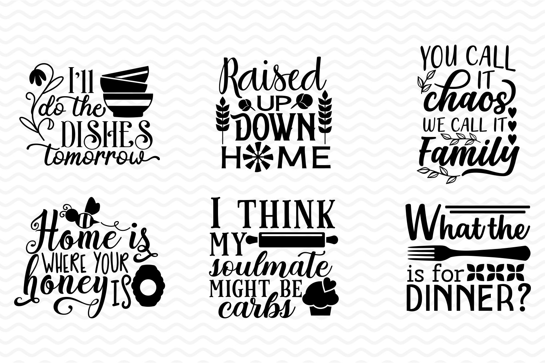 Home & Kitchen SVG bundle example image 3