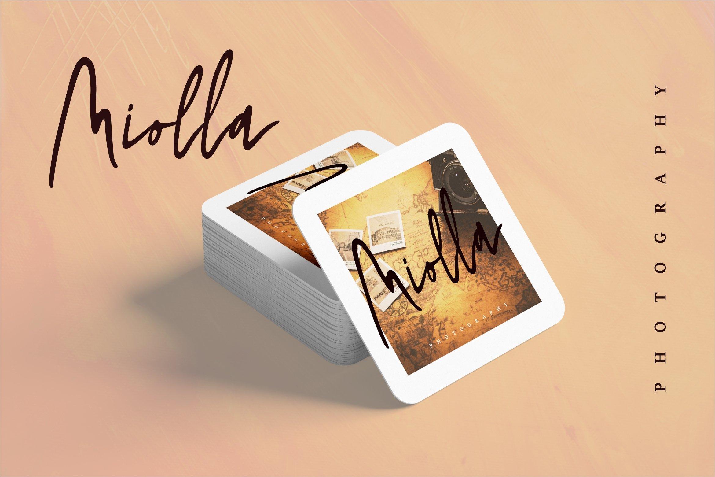 Shadira - A Beauty Handwritten Font example image 5