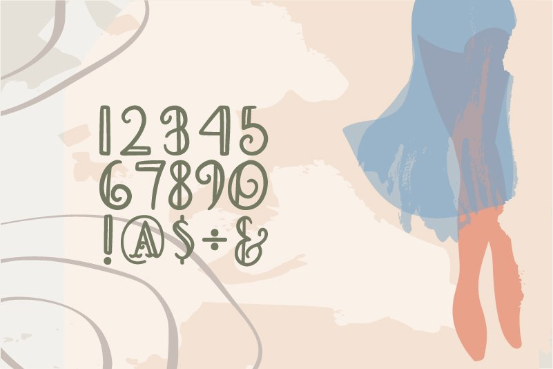 Myriamy Font example image 2