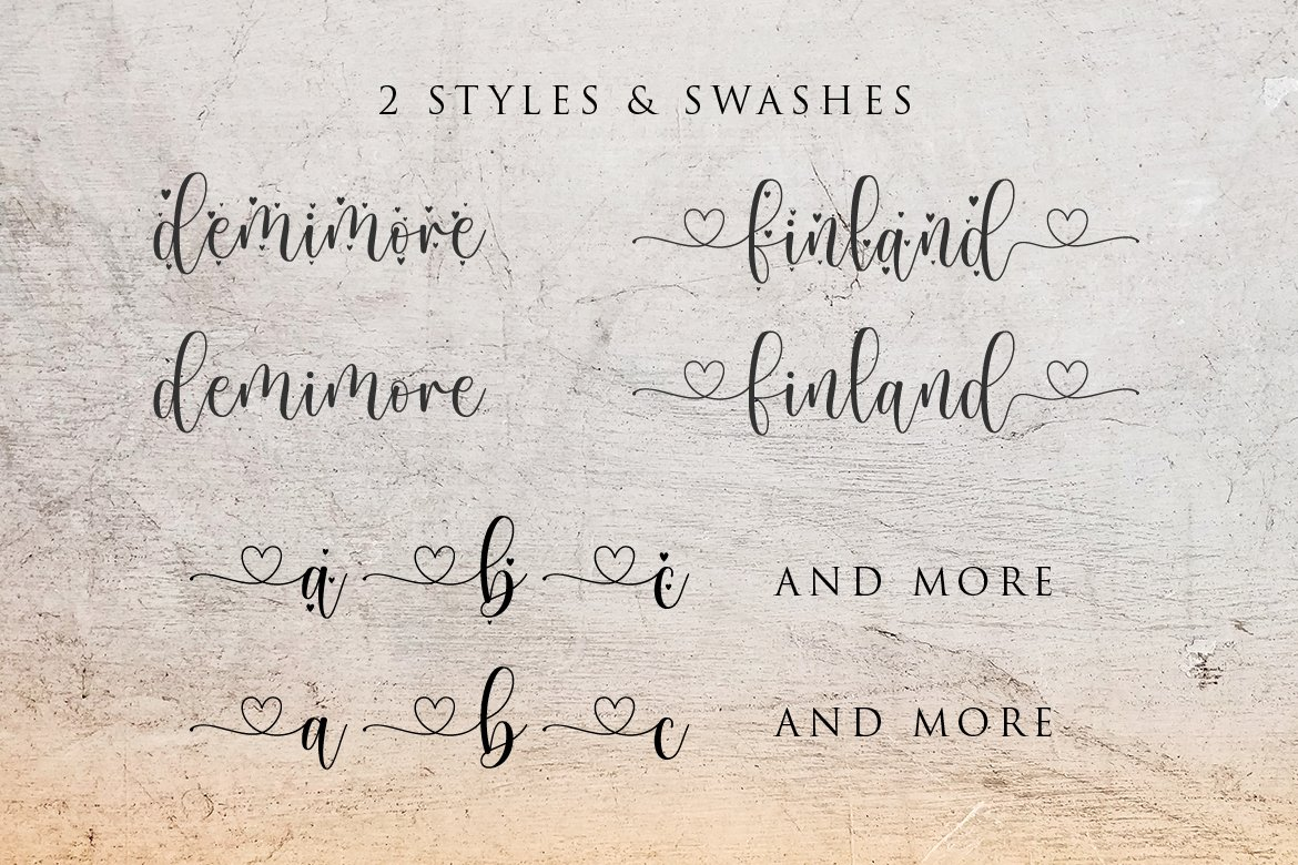 Mother Tongue - 2 Styles Font example image 6