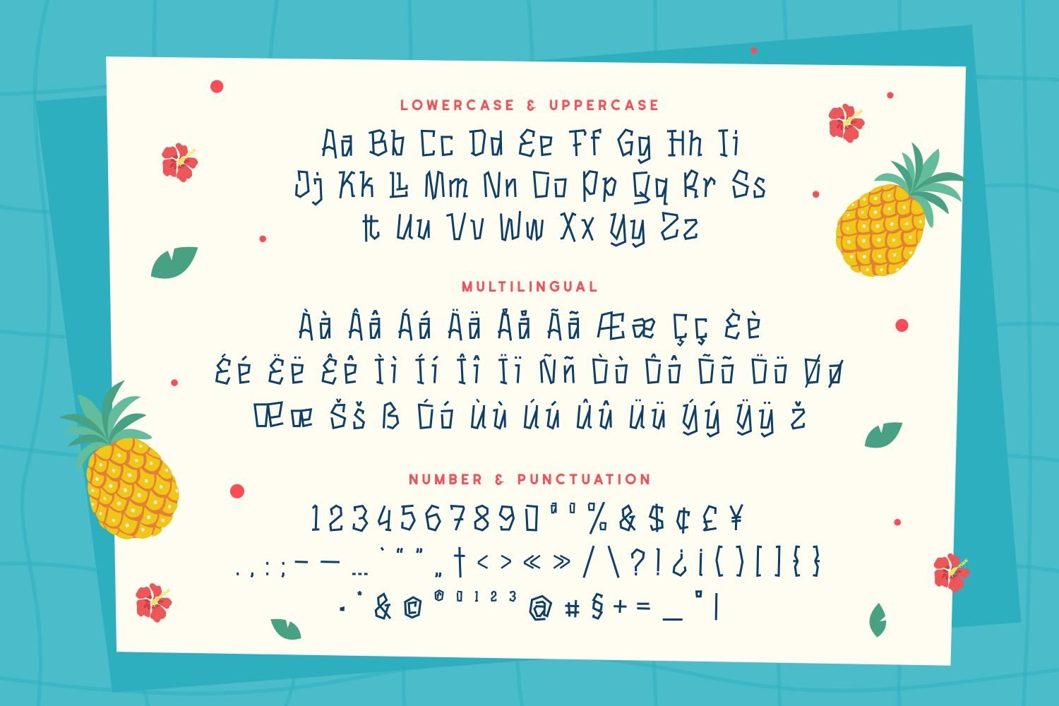 Holilend - Playful Display Font example image 5