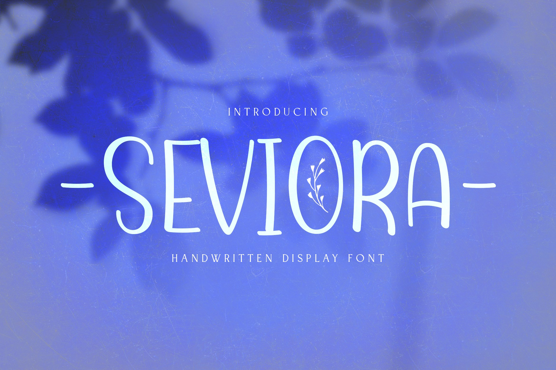 Seviora example image 1