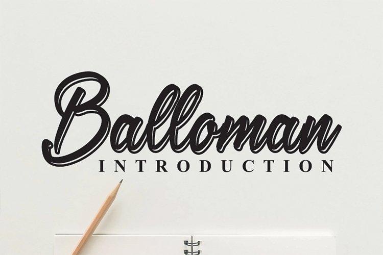 Balloman example image 1