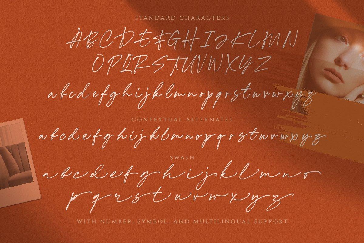 Annette Bradford - Ballpoint Script example image 5