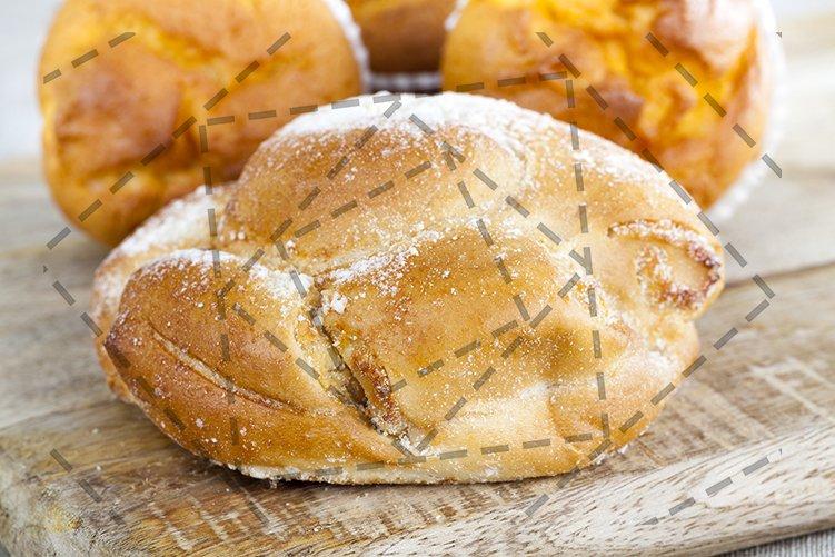 Tasty wheat bun example image 1