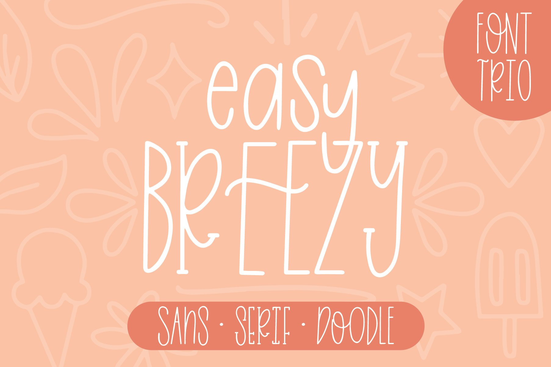 Skinny 4 Font Bundle, 8 Fonts from 4 Families example image 5