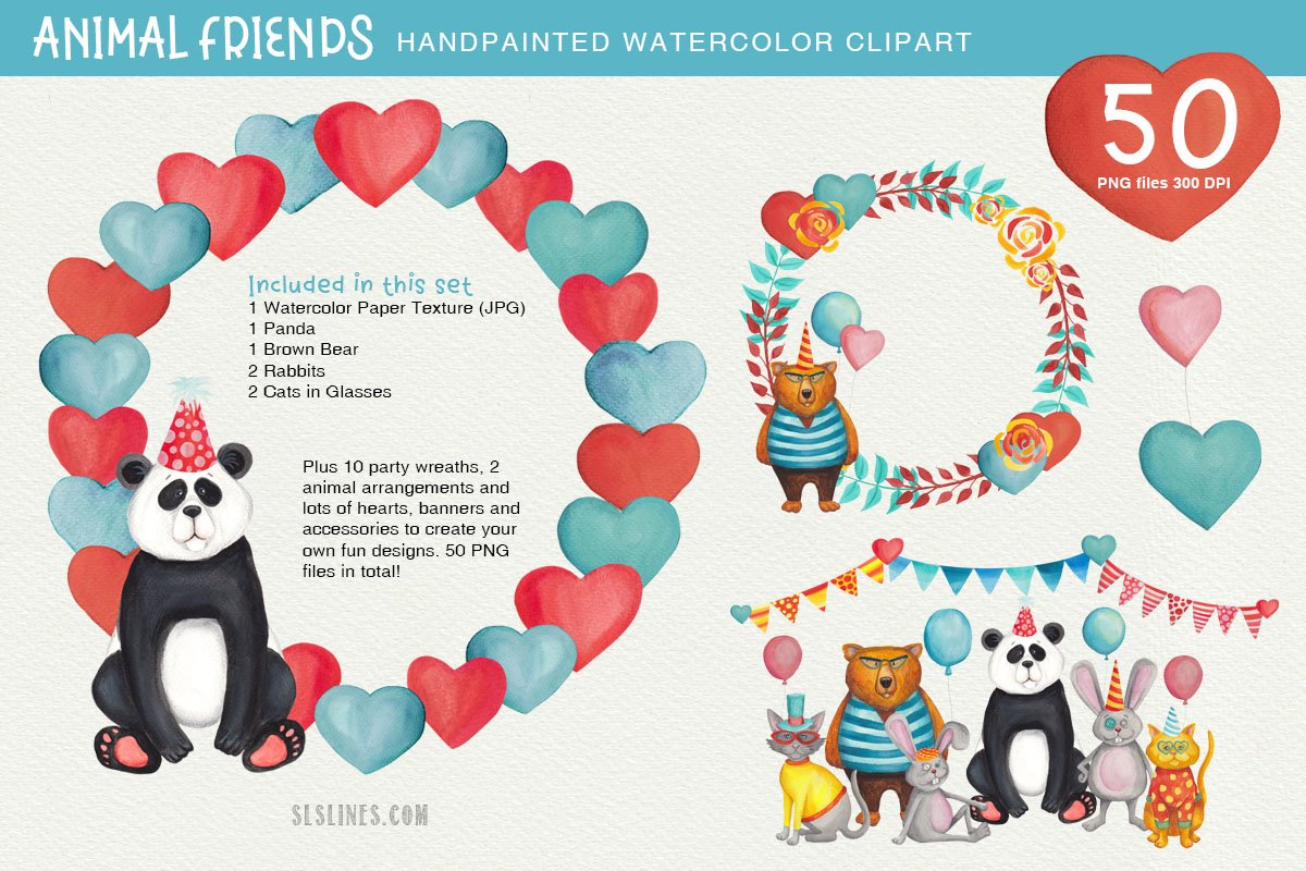 Big Animals & Birds Illustration Bundle example image 30