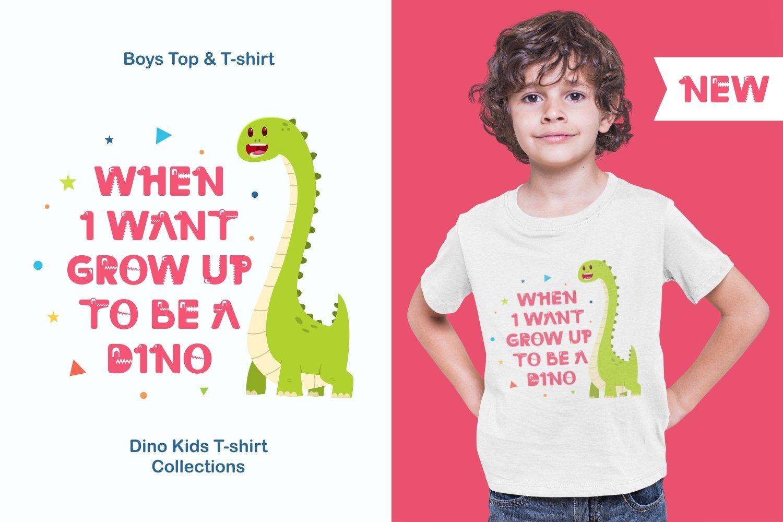 Dino Land - Playful Display Typeface example image 3