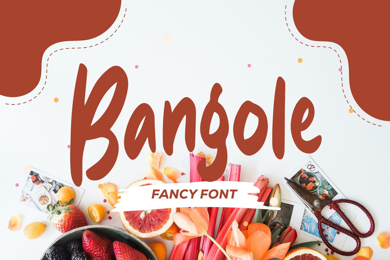 Bangole - Fancy Fonts example image 1