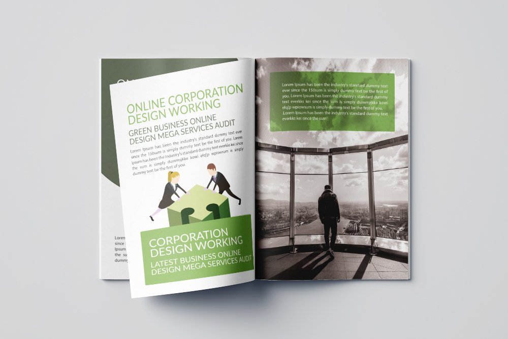 Business Annual Report Brochure 16 Pages example image 5