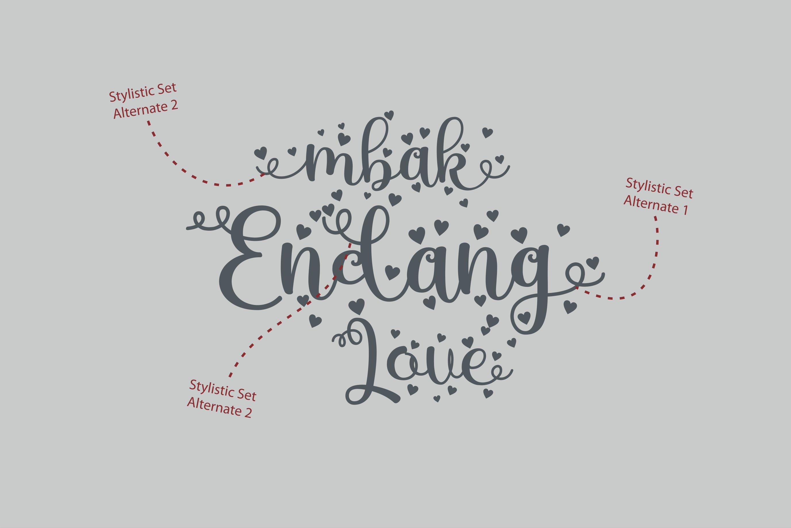 Mbak Endang Love example image 2