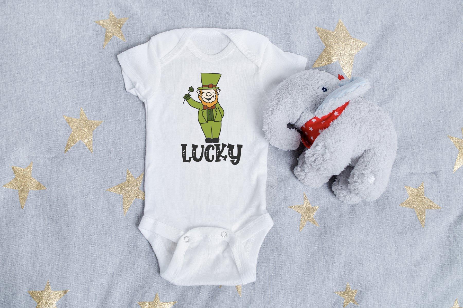 Leprechaun SVG | Lucky Irish SVG example image 2