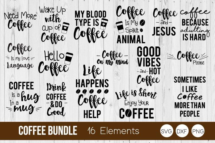 Coffee Quote Bundle Svg Dxf Png Bundle Cut Files 173741 Cut Files Design Bundles
