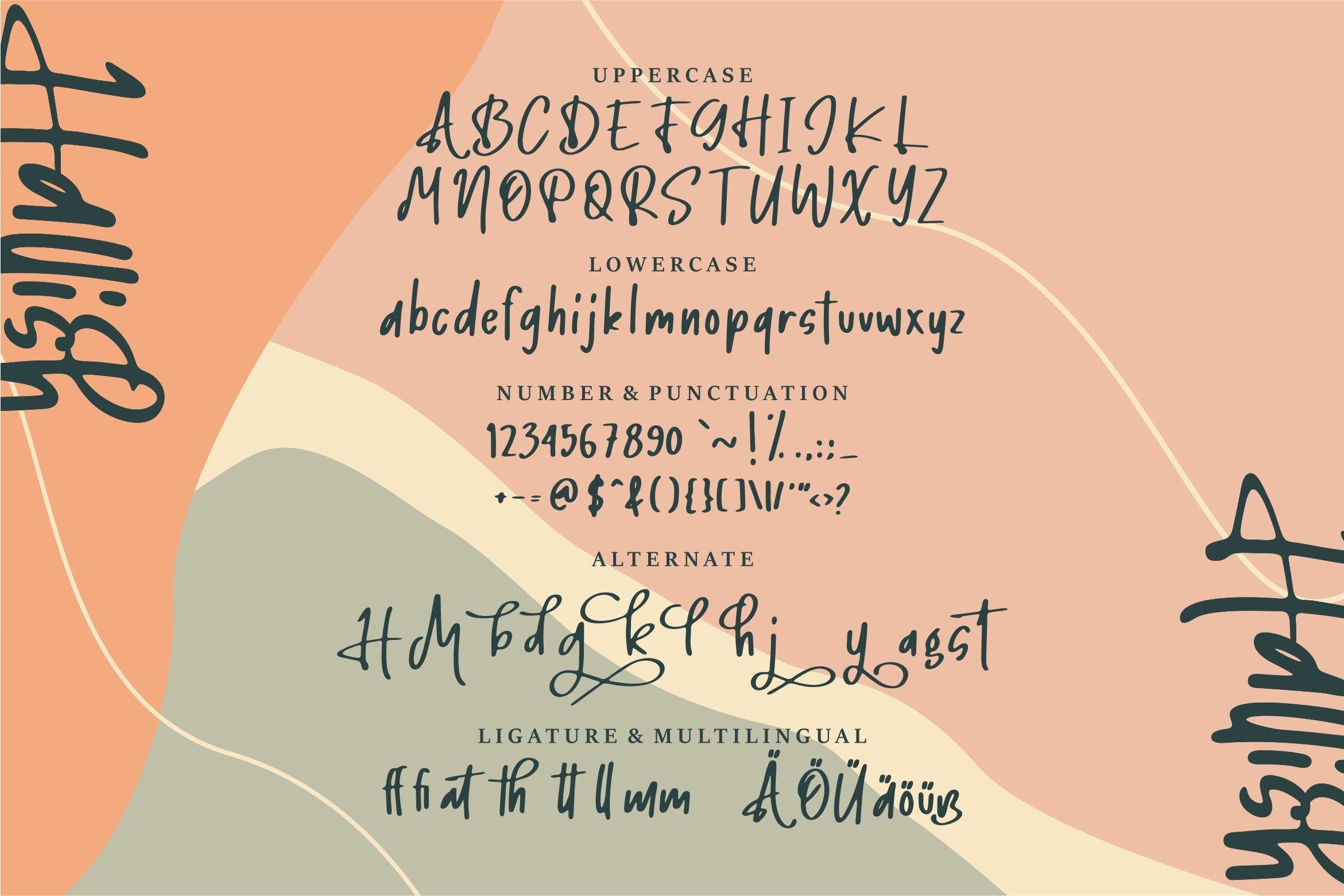 Hallish - A Handwritten Font example image 5