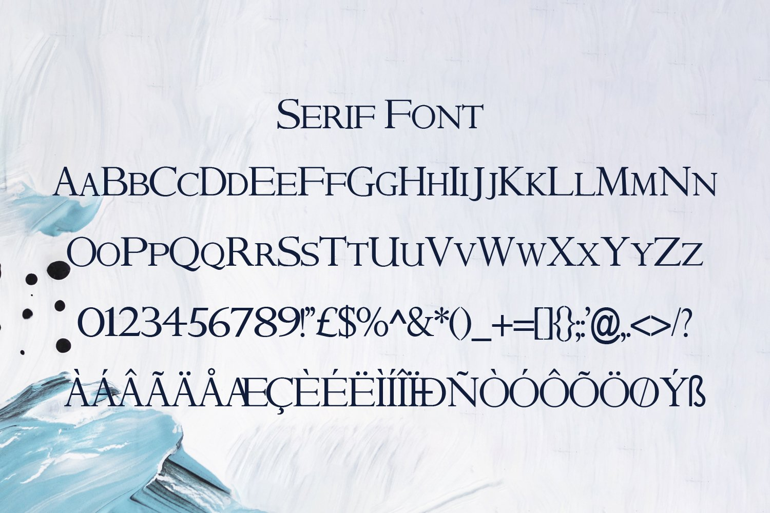 Signature Archive - A Signature and Serif Font Duo example image 6