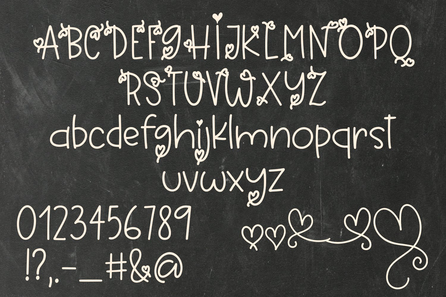 Always Be Yourself - A Cute Hand-Written Font example image 4