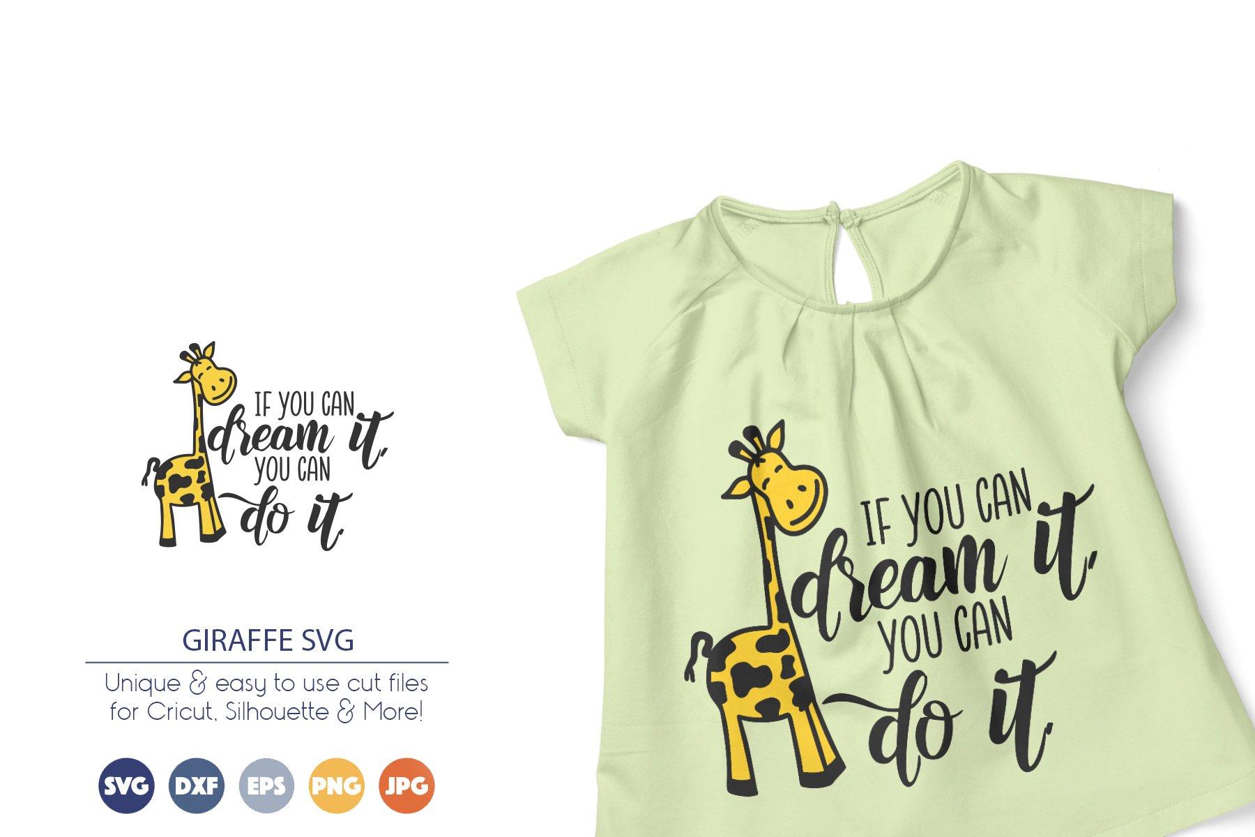 Giraffe SVG | Inspirational SVG example image 1