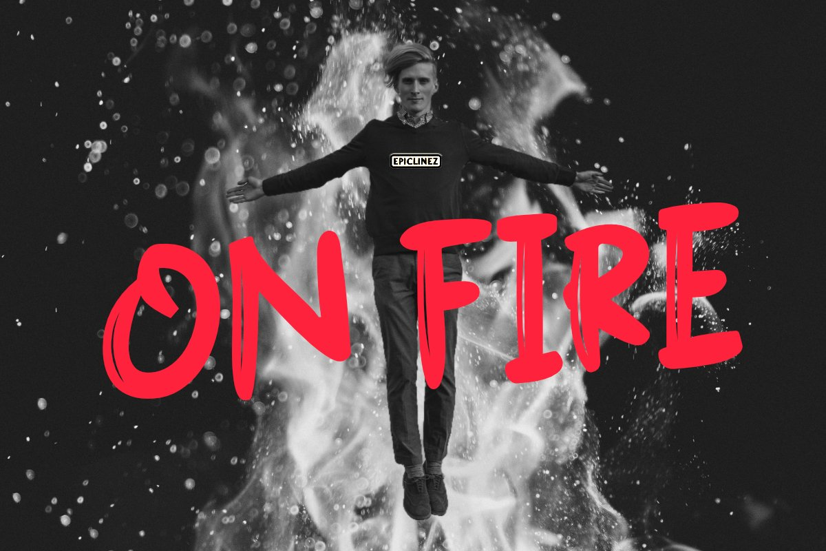 On Fire - A Bold Display Font example image 1
