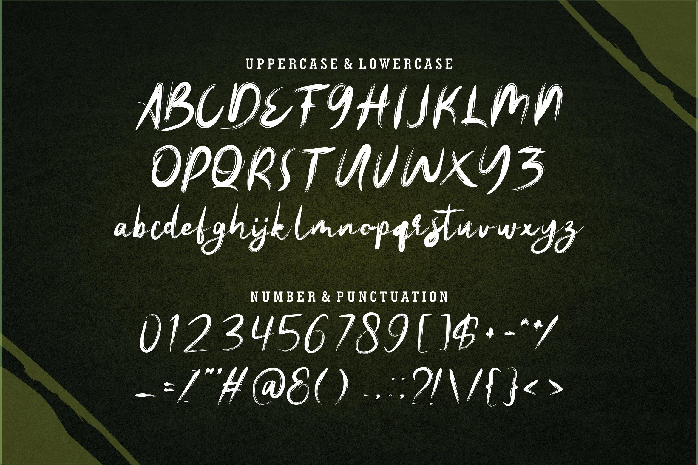 Artoll - New Brush Font example image 7
