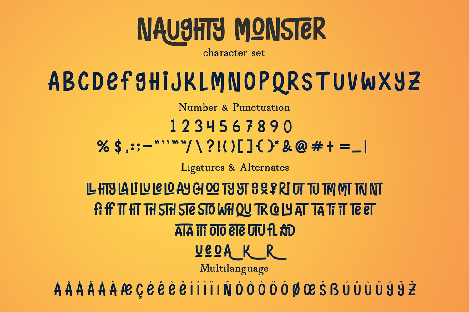 Naughty Monster example image 5