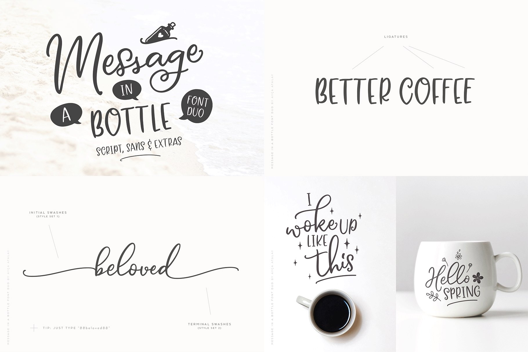 The Hand Lettered Font Bundle example image 5