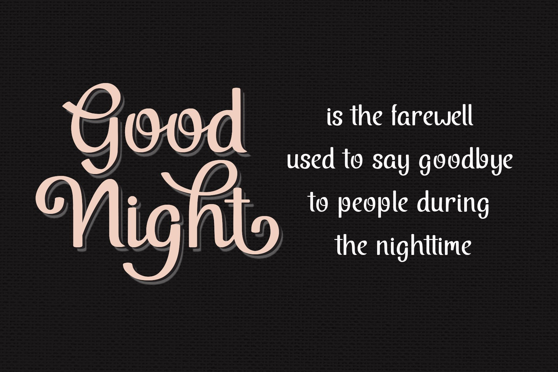 Midnight Script Font example image 10