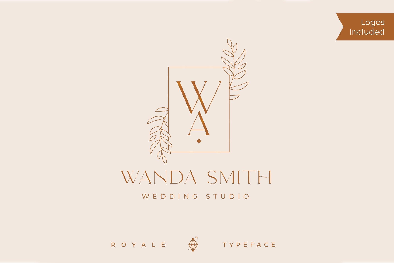 Royale Luxurious Typeface example image 9