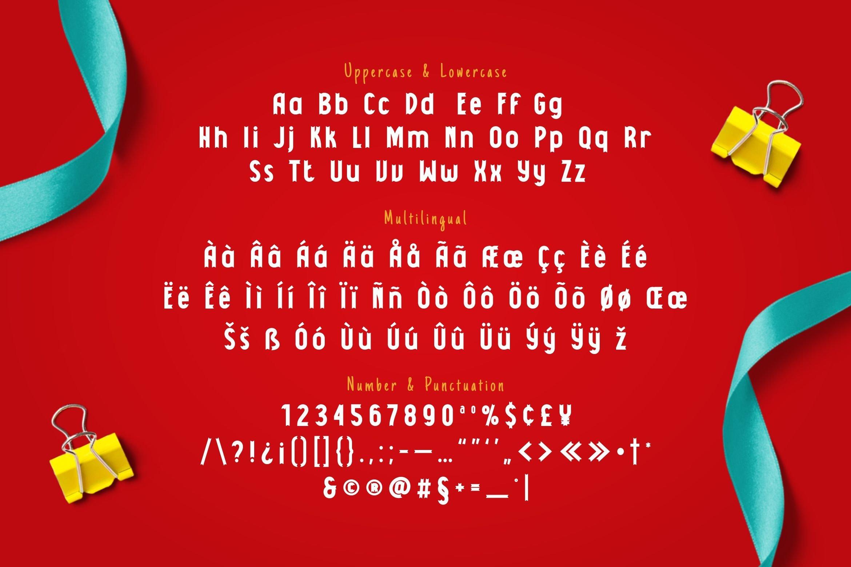 Pitakusut Display Font example image 5