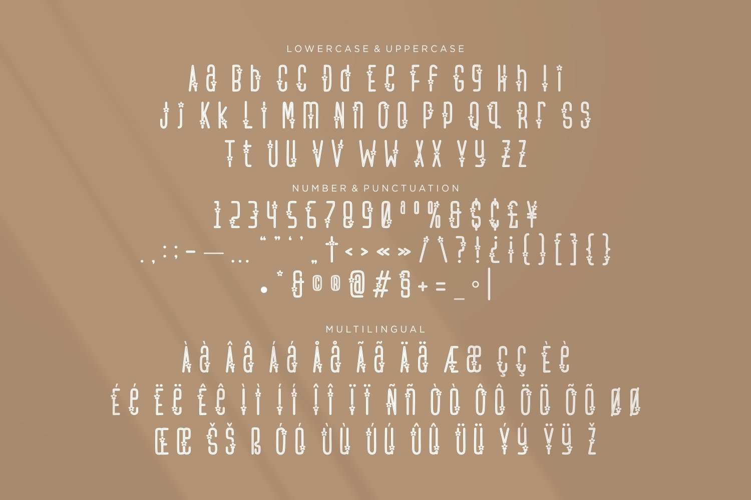 Flower Spa - Beautiful Display Font example image 2