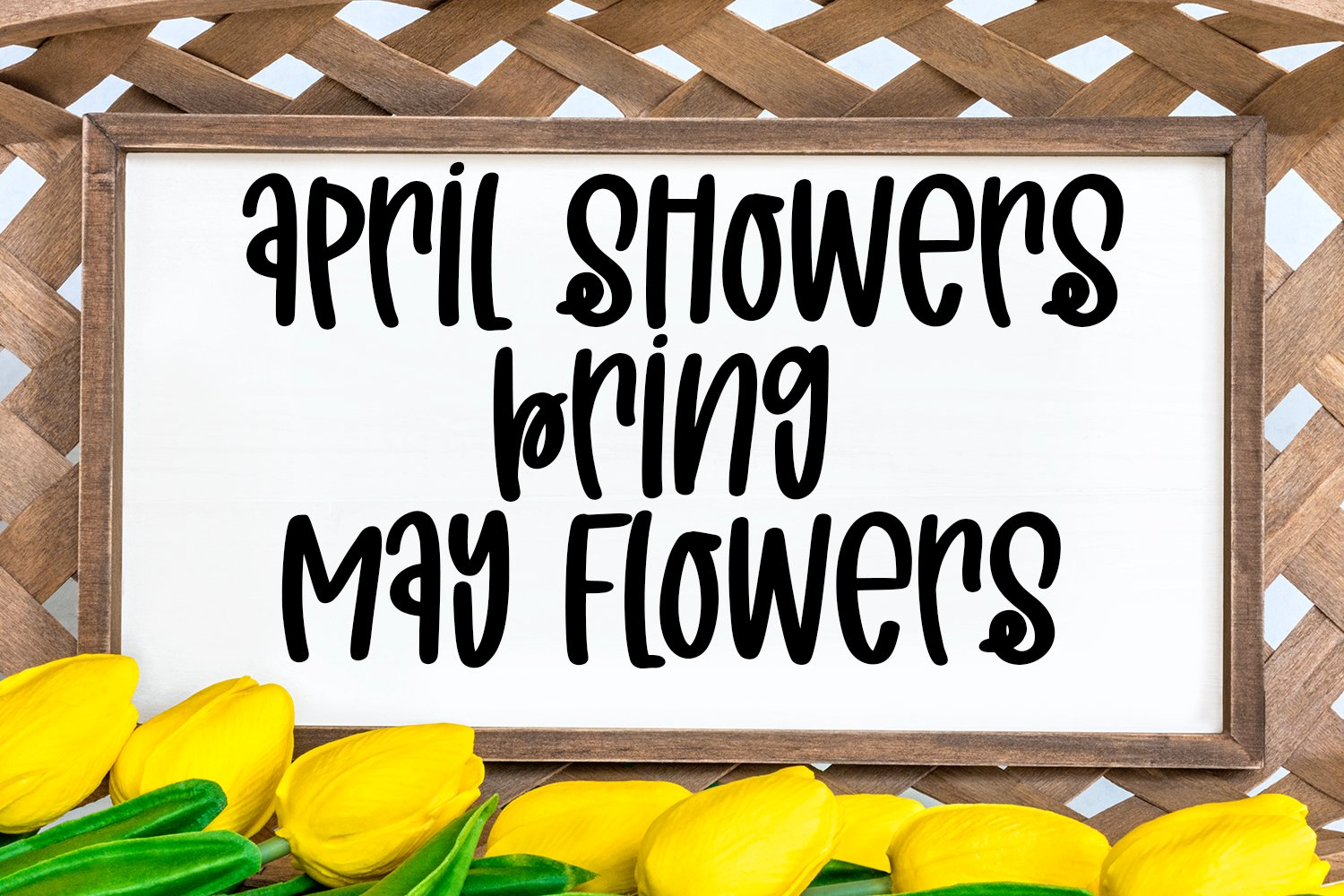 April Sunshine - A Quirky Handlettered Font example image 3