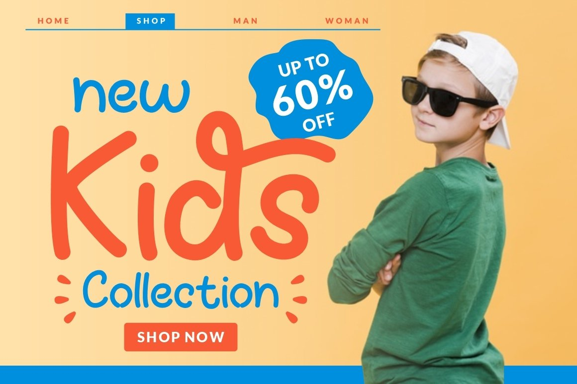 Fun Kids - Playful Font example image 6