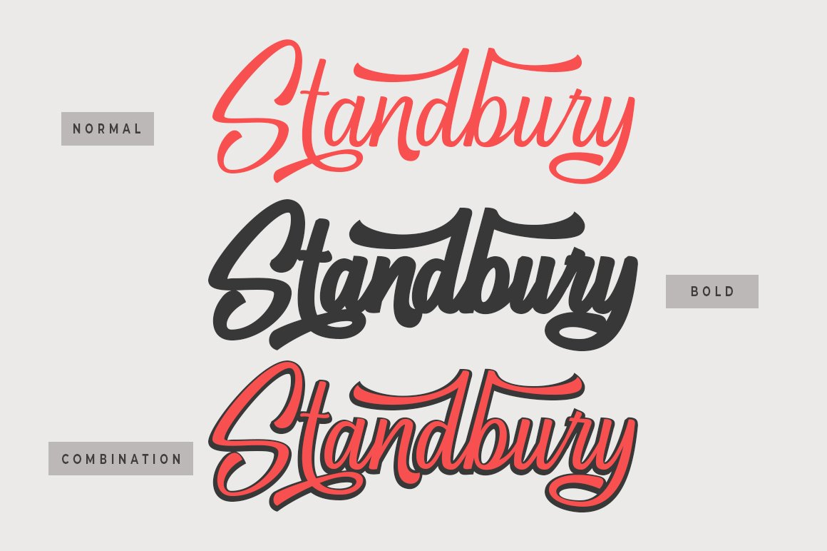 Standbury Script example image 2