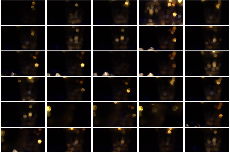 60 Golden light leak effect Overlay example image 8