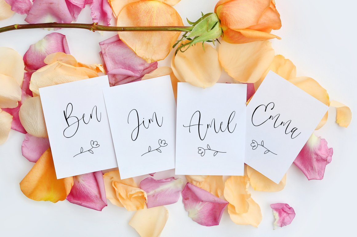 Gilmour - Beautiful Calligraphy example image 10