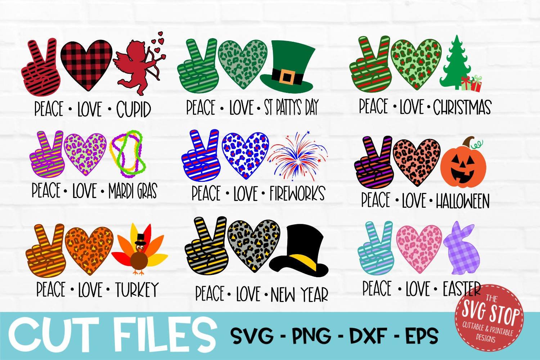 Download Peace Love Bundle Svg Png Dxf Eps 409622 Svgs Design Bundles