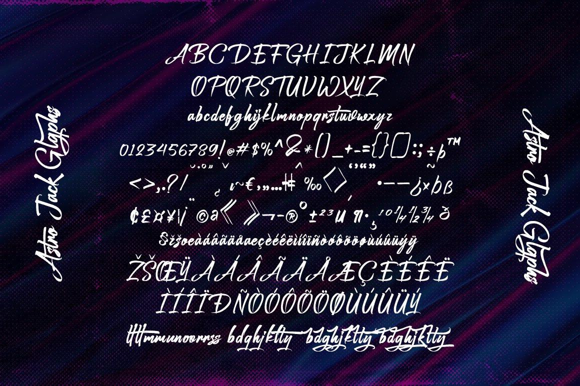 Astro Jack - Handwritten Font example image 4