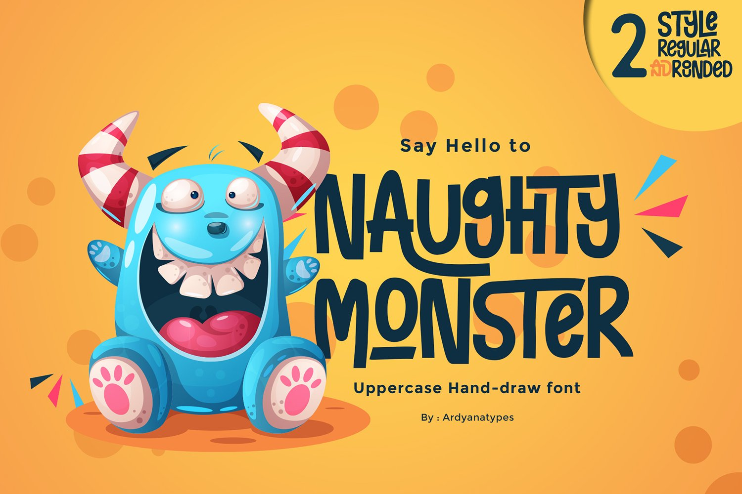 Naughty Monster example image 1