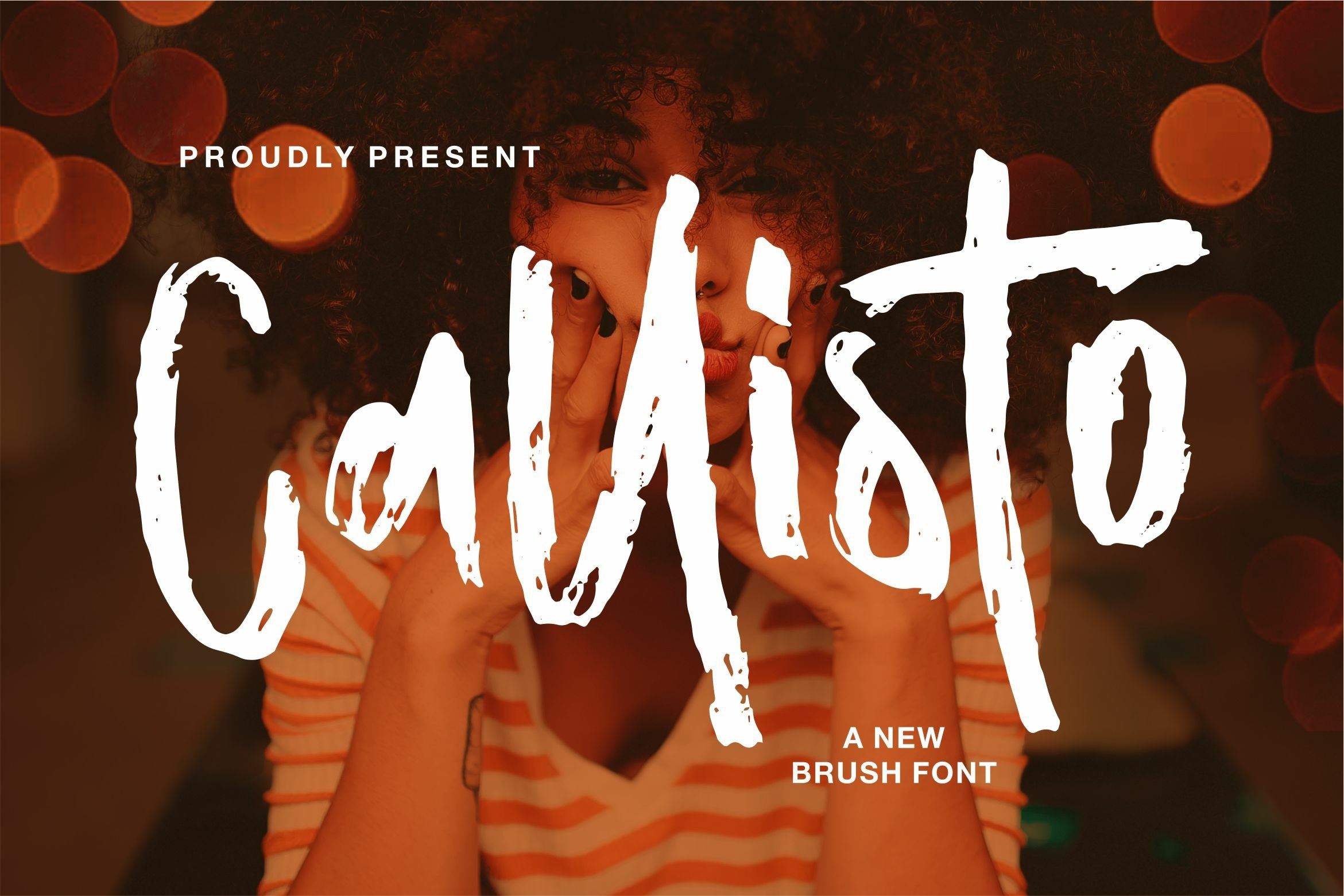 Callisto - A New Brush Font example image 1