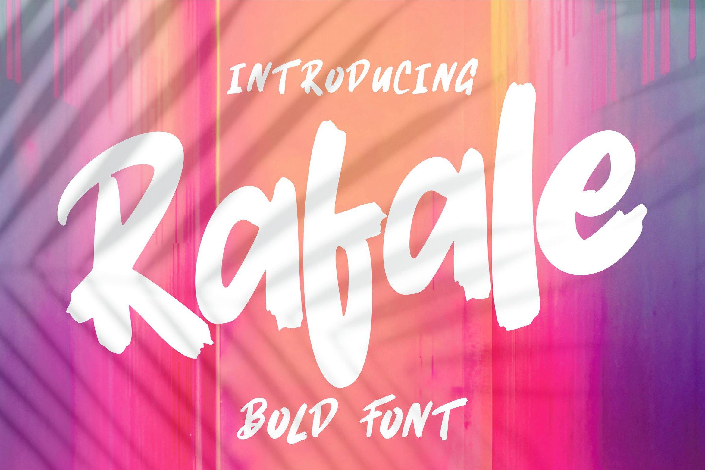 Rafale | Bold Font example image 1