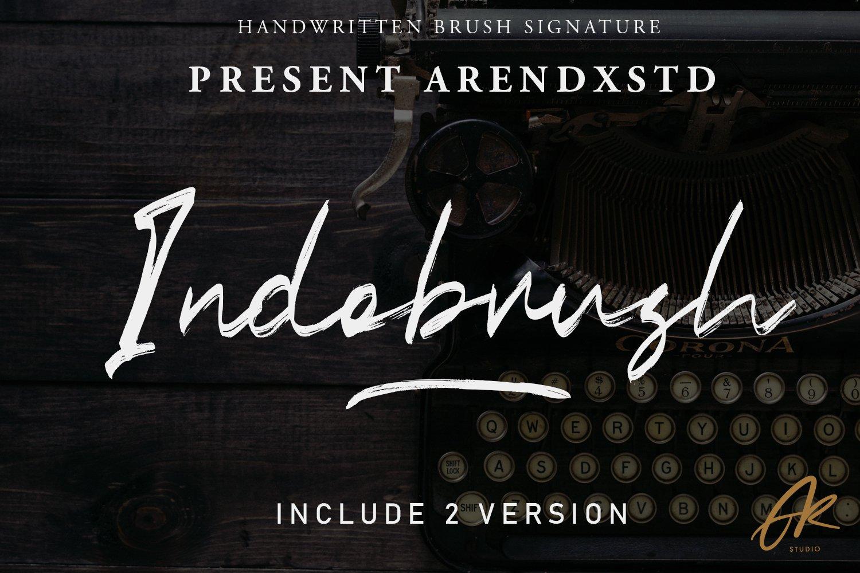 Indobrush Signature Brush example image 1
