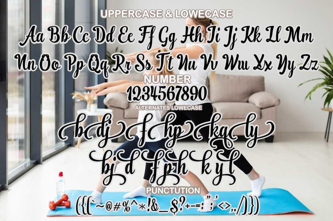 Ranykinaya Script example image 7